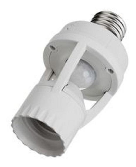 Kit 5 Sensor Presença C/ Fotocélula P/ Lâmpada Soquete E27