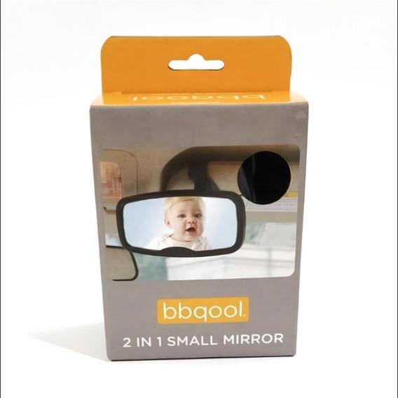 Espejo Retrovisor Para Auto Bebes Mega Baby 2 En 1