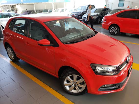 Volkswagen Polo Motor 1.6 Rojo 2016 5 Puertas Estándar