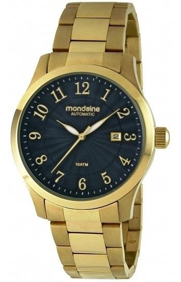 Relógio Mondaine Masculino Mecânico Automático 94511gpmgda2