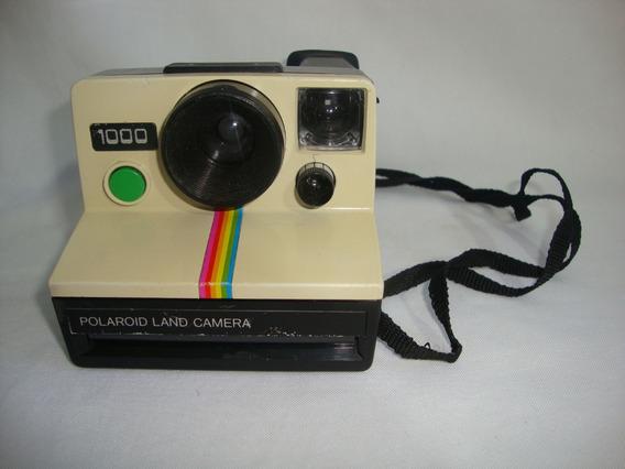 Antiga Polaroid Land 1000 Camera Anos 70 Coleção Vintage