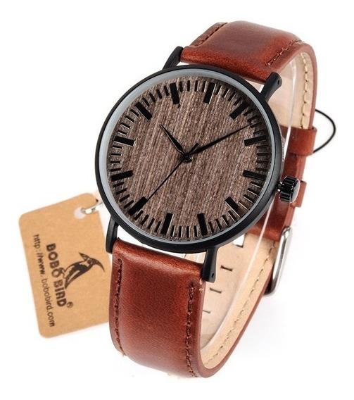 Relógio Masculino Analógico Bobo Bird Aço We25