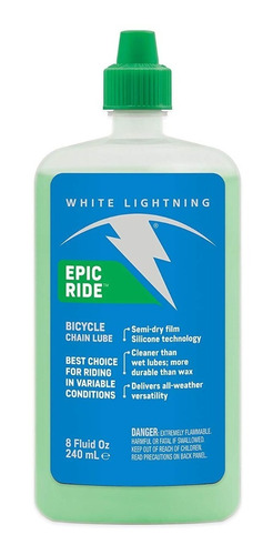 Aceite Lubricante Bicicleta White Ligtning Seco (120ml)