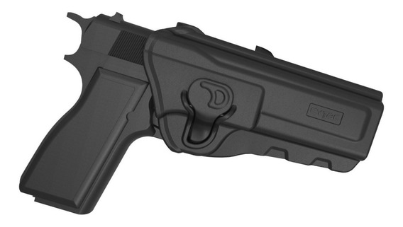 Pistolera Cytac Polimero Nivel 2 Pistola Browning Hi Power 9