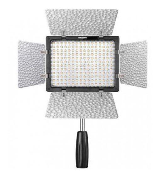 Luz contínua tipo painel Yongnuo YN160 III branca-quente/branca-fria
