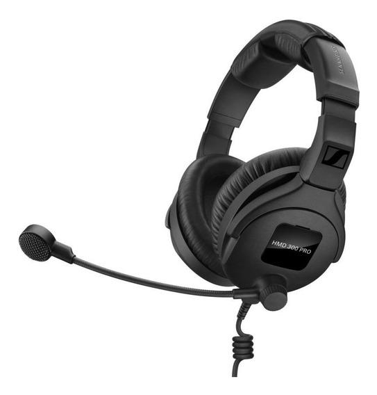 Sennheiser Hmd 300 Pro - Fone Broadcast Transmissão Voz