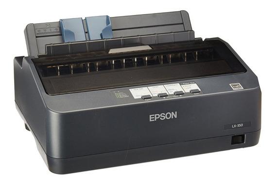 Impressora Matricial Epson Lx-350 Usb Paralela Bivolt