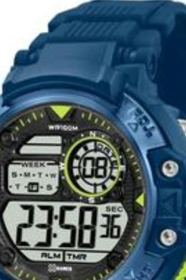 Relógio Masculino X-games Xmppd478 Digital Quartz
