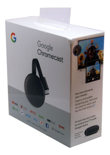 Google Chromecast 3 Gen Smart Tv Box Netflix Hdmi Full Hd