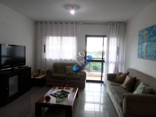 Apartamento Com 4 Dormitórios À Venda, 124 M² - Jardim Esplanada Ii - São José Dos Campos/sp - Ap2497