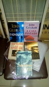 Lote 05 Livro Policial John Grisham