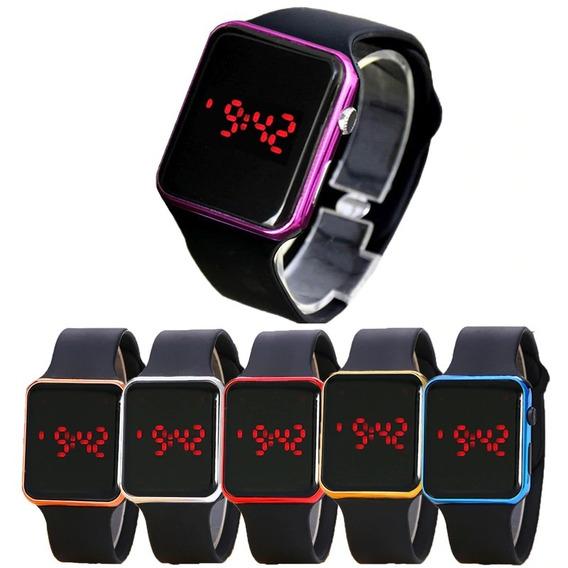5 Relojes Led Sport Watch Calidad Premium Envío Gratis