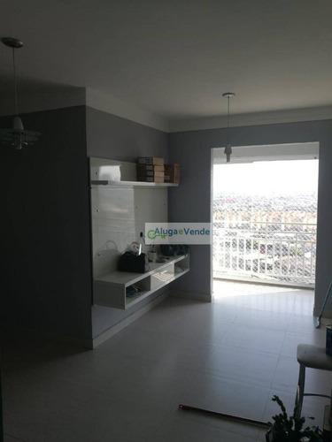 Imagem 1 de 30 de Apartamento Com 64m², 3 Dormitórios, Lazer Completo E 1 Vaga De Garagem No Parque Novo Mundo À Venda, Por R$ 400.000 - Parque Novo Mundo - São Paulo - Ap0223