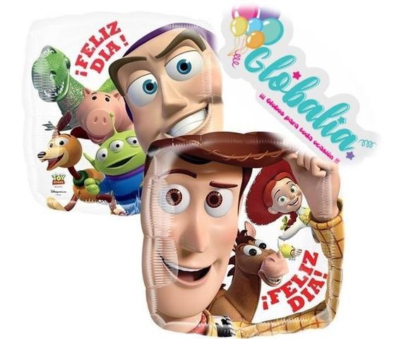 Globo Metalico Toy Story. Globo Helio Buzz, Jessy, Woody