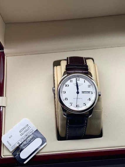 Longines Automatico Piel Master Collection Cartier Rolex Tag