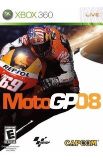 Jogo Moto Gp 08 - Xbox 360 - Mídia Física Original - Barato!