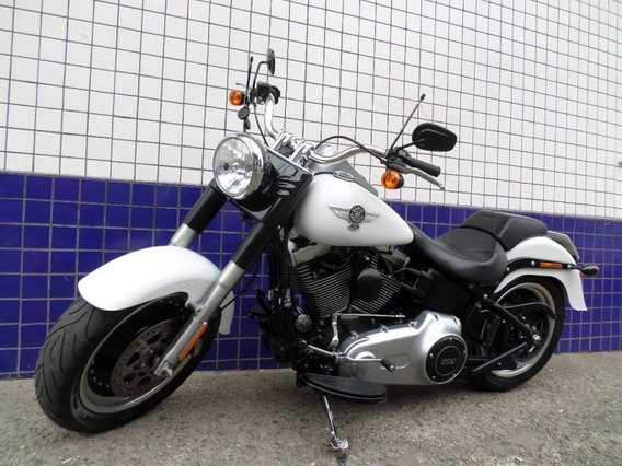 Harley Davidson Fat Boy 2016 Branca