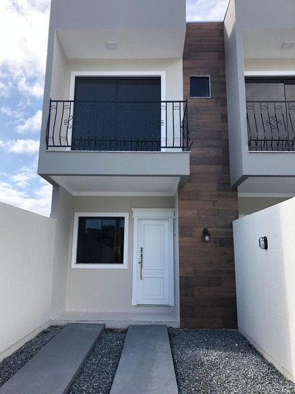 Casa Em Itapema Com Fino Acabamento Só 299 Mil