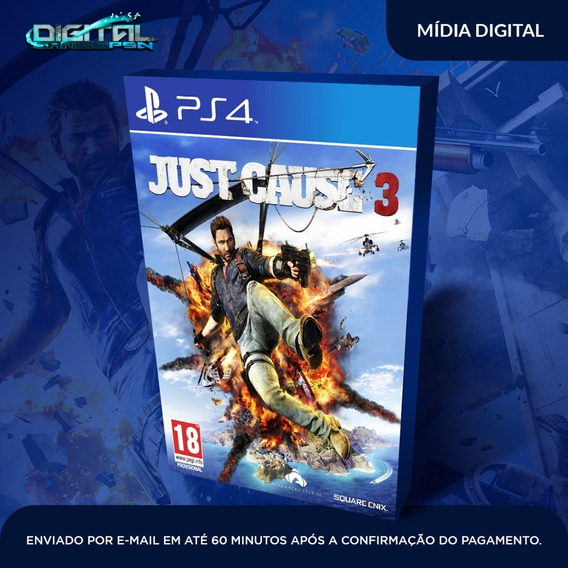 Just Cause 3 Ps4 Psn Digital Envio 10 Minutos! Original