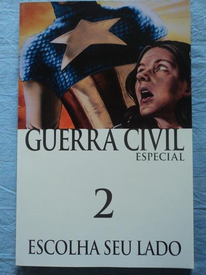 Hq-guerra Civil:#2:escolha Seu Lado:marvel:capitão America