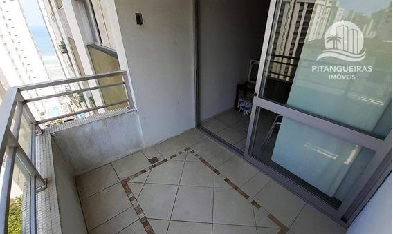 Pitangueiras - Excelente Apto - Totalmente Reformado - Linda Vista Ao Mar - Garagem - 50 Metros Da Praia. - Ap0687