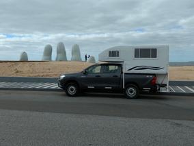 Camper Para Camionetas Doble Cabina Ultraliviano