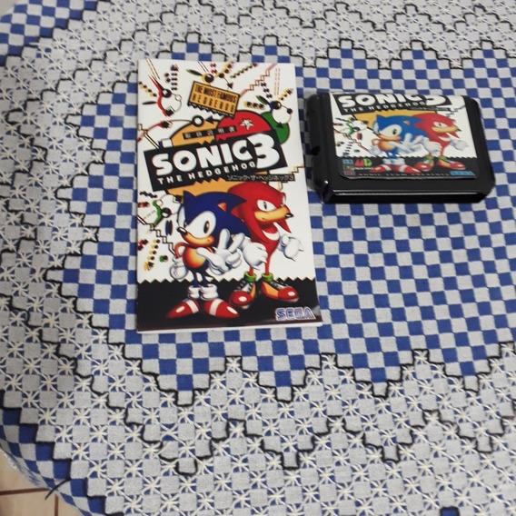 Sonic The Hedgehod 3 Japonês Paralelo