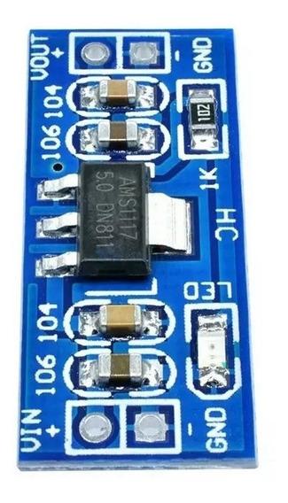 Conversor Estabiliz Tensão Ams1117 6v - 12v P/ 3.3v