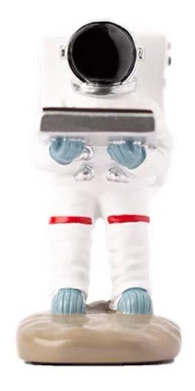 Soporte De Reloj Diseño Astronauta Decoración Creativa Hogar