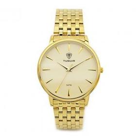 Relógio Feminino Tuguir Analógico 5041 Dourado Original