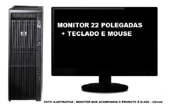 Workstation Hp Z600 Intel Xeon + Quadro 8gb 1tb - Semi Novo