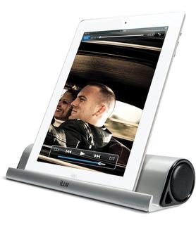Parlante Bluetooth Portátil Iluv P/celular-tablet C/soporte