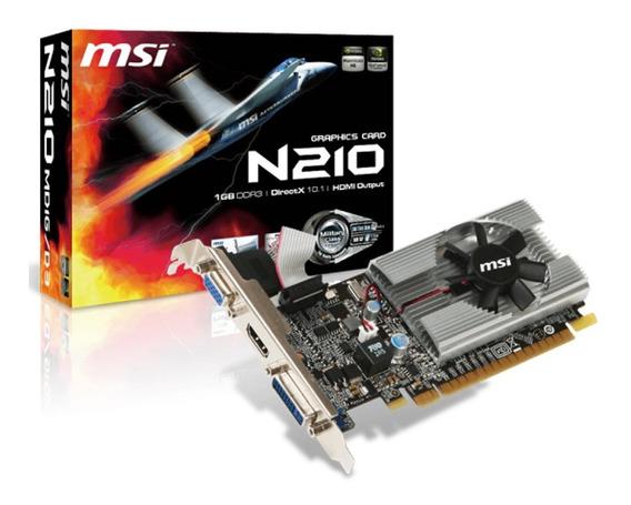 Placa Video Geforce Msi G210 1gb Ddr3 Hdmi Vga Dvi Mexx 2