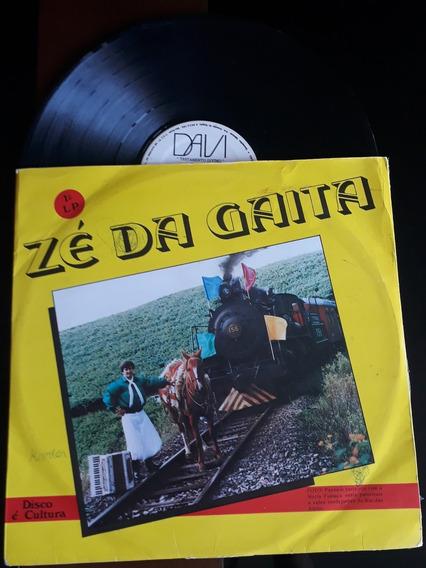 Lp Disco Música Gaúcho Tradicionalista Zé Da Gaita (raro)