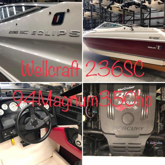 Wellcraft 236 Sc 1993 Mercruiser V8 350magnum 2012 Duoprop