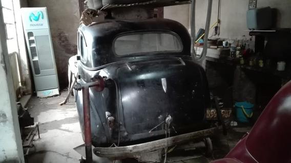 Auto Antiguo Chevtolet 1938