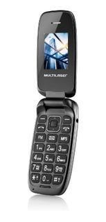 Celular Multilaser Flip Up Dual Chip Camera Mp3 Bluetooth