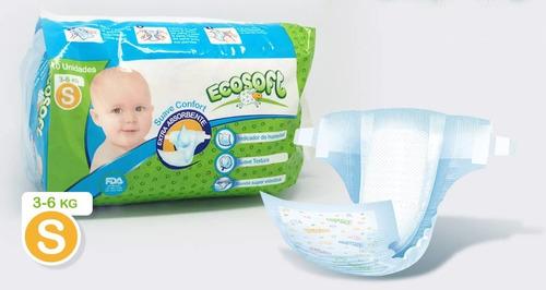 Pañal Desechables Para Bebe Ecosoft