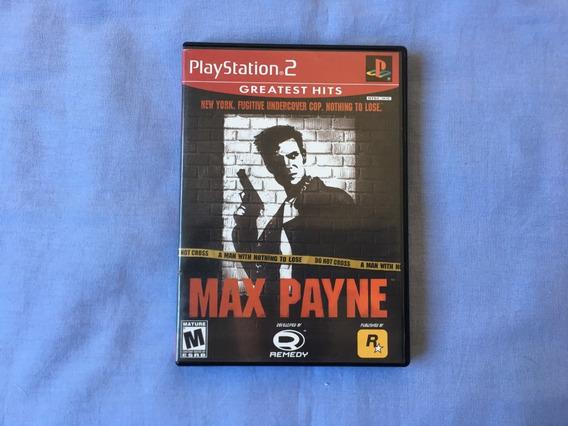Max Payne Original Completo Playstation 2