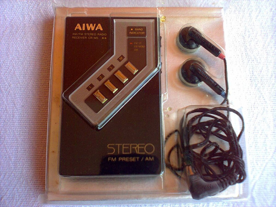 Mini Receiver Am/ Fm Aiwa