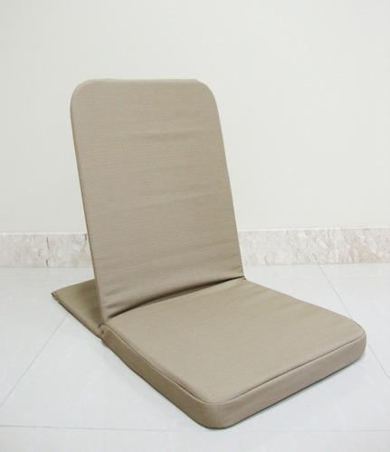 Cadeira De Meditação - Caminhos Do Yoga (cáqui)