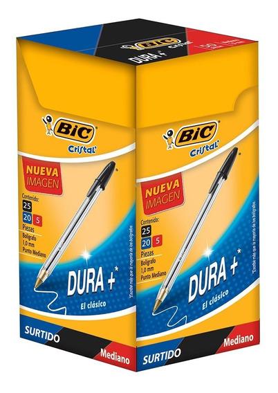 Bic Boligrafo Dura+ Surtido Caja Con 50 Pz