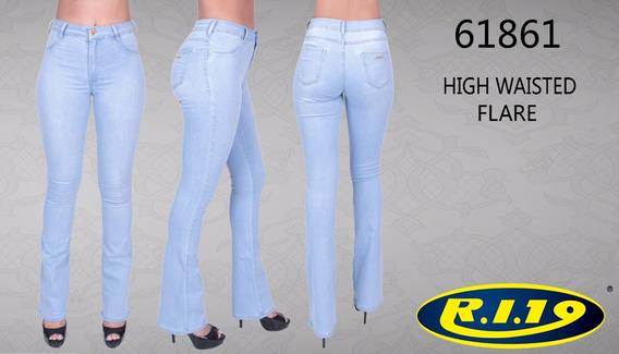 Calça Jeans Flare Ri19 Lançamento Black Friday