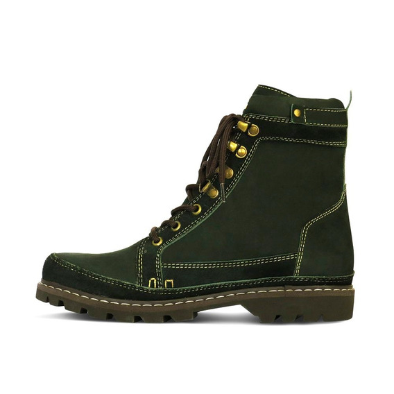 Boot Adventure Couro Nobuck Masculino Silverado Militar