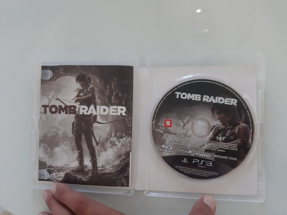Tomb Raider Ps3 Midia Fisica