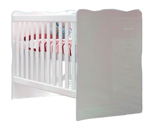 Imagen 1 de 3 de Cuna Dormitorio Infantil Bebe Blanco 011
