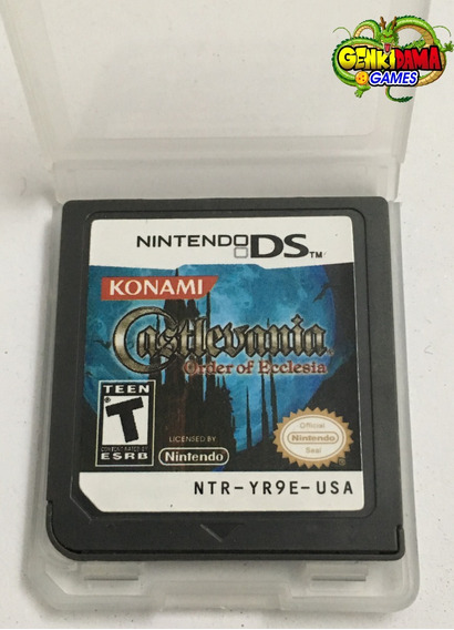 Castlevania Order Of Ecclesia Nintendo Ds 2ds 3ds Xl Novo