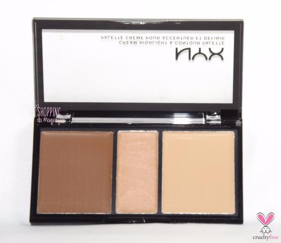 Nyx Contour Cream Kit - Paleta De Contorno Nyx