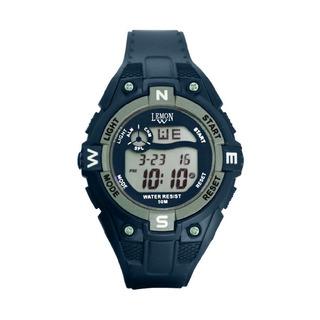 Reloj Deportivo Digital Lemon Dl158 Sumergible Alarma Calendario Gtia Oficial