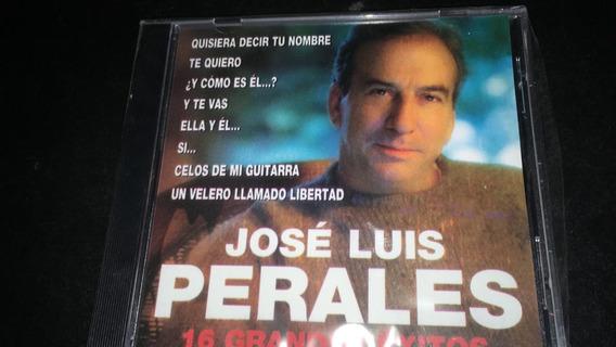 Jose Luis Perales 16 Grandes Exitos Cd Nuevo Cerrado